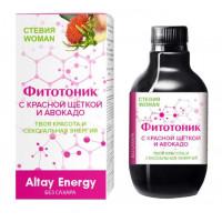 Растительный сироп для женщин «Фитотоник с красной щёткой и авокадо» - 250 мл.