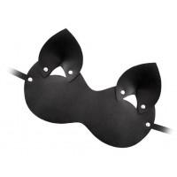 Закрытая черная маска  Кошка