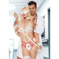 Пикантный BDSM-набор медсестры Nurse Pleasure