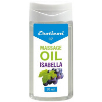 Массажное масло Isabella с ароматом винограда «Изабелла» - 30 мл.