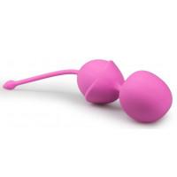 Розовые вагинальные шарики Jiggle Mouse