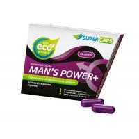 Капсулы для мужчин Man s Power+ с гранулированным семенем - 10 капсул (0,35 гр.)